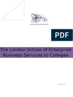 The London School of Enterprise - Teacher Training