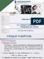 Cálculo Diferencial e Integral 2 - Unidade 01.2- Integral Indefinida- Integração Por Partes