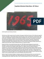 Indoprogress.com-Kebiadaban Negara Kapitalis Birokrat Orde Baru 50 Tahun Genosida 1965