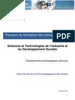 6 Parcours de Formation Des Enseignants STI2D Au 05-01-11