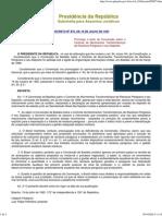 Decreto Federal 875 - Controle de Movimento Transfronteiriços de Resíduos Sólidos e Depósitos