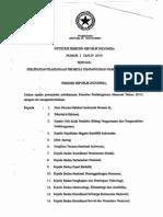 Inpres No.1-2010 Percepatan Pelaksanaan Prioritas Pembangunan Nasional Tahun 2010
