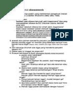 List Pertanyaan Untuk Aloanamnesis