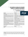 Modelo de Situación en La Consulta Psicológica-Menendez