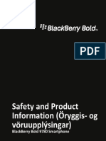 Safety Product Info