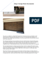 The Mishaps Of Getting A Garage Doors Sacramento