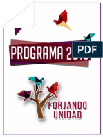Programa Forjando Unidad, Lista 1 CED
