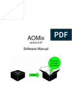AOMix Manual