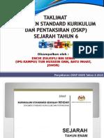3.1 DSKP KSSR SEJARAH TH 6 (PERINCIAN)_Edaran Peserta.ppt
