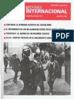 Revista Internacional - Nuestra Epoca N°8 - Edición Chilena - Agosto 1986