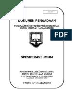 Spesifikasi Umum Jalan_2015