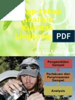 3 Tahap-tahap Analisis Kualitas Lingkungan