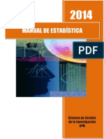 2014 Consulta Manual de Estadística