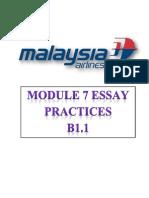 Module 7 Complete Essays B1.1 & B2