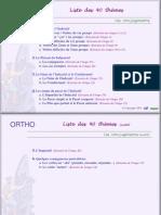 40 Themes