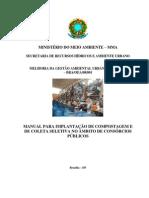 MANUAL PARA IMPLANTAÇÃO DE COMPOSTAGEM E DE COLETA SELETIVA NO ÂMBITO DE CONSÓRCIOS PÚBLICOS
