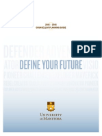 University of Manitoba 2016 Counsellor Planning Guide