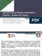 Introducción Al Diseño Orientado a Objetos - Diagrama de Clases