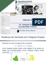 Cálculo Diferencial e Integral 2 -Unidade 7.3- Coordenadas Polares - Integral Dupla