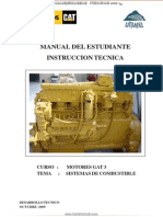Manual Instruccion Sistemas Combustible Motores Gat 3 Caterpillar