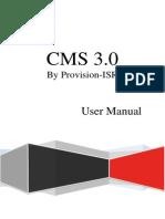 CMS 3 User Manual