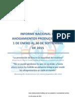 AHOGAMIENTOS infografia hasta 30 de septiembre 2015