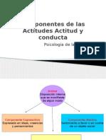 Componentes de Las Actitudes – Actitud y Conducta