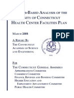 A Needs-Based Analysis of the University of CT Health Center Facilities Plan