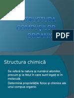 Structura compuşilor organici