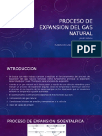 Proceso de Expansion Del Gas Natural