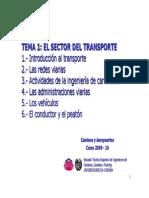 01 El Sector Del Transporte