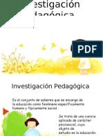 investigación pedagógica
