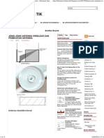 Jenis-jenis Antenna Wireless dan Pembuatan Antenna ~ Informasi duni
