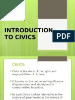 Intro to Civics