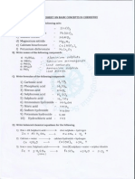 Basic Concepts in Chemistry -1