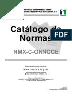 Catalogo de Normas 2013