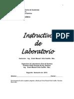 Instructivo de Lab de Bioquimica Segundo Semestre de 2013