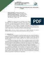 Conjunto Didático de Geração Fotovoltaica de Baixo Custo