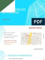 E-Book Treinamento de Sistema Airless de Pintura