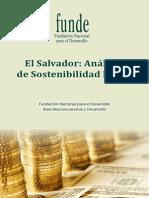 Sostenibilidad Fiscal El Salvador