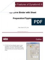 BSE Tip Curve Binder With Sheet