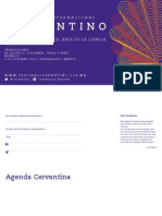 Programa del Festival Internacional Cervantino