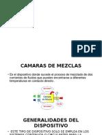 Camara de Mezcla e Intercambiadores de Calor