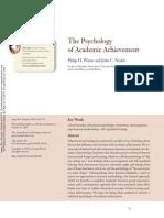 Winne & nesbit The Psychology of Academic Achievement