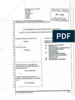 Tony Michael v. Caramanis Fourth Amended Cross-Complaint 10012015
