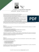 CILS Produzione Orael