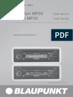 Blaupunkt Essen Mp35 manual