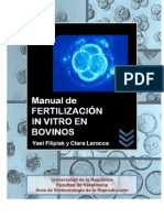 Fertilización In Vitro en Bovinos