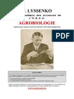 T Lyssenko Agrobiologie