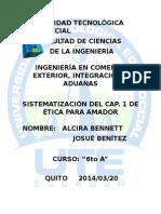 """Sistematizaciã""""n Del Capã-tulo 1 De"""